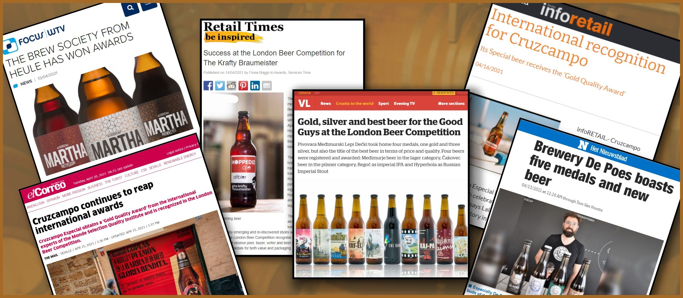 Photo for: London Beer Competition Winners Press Coverage