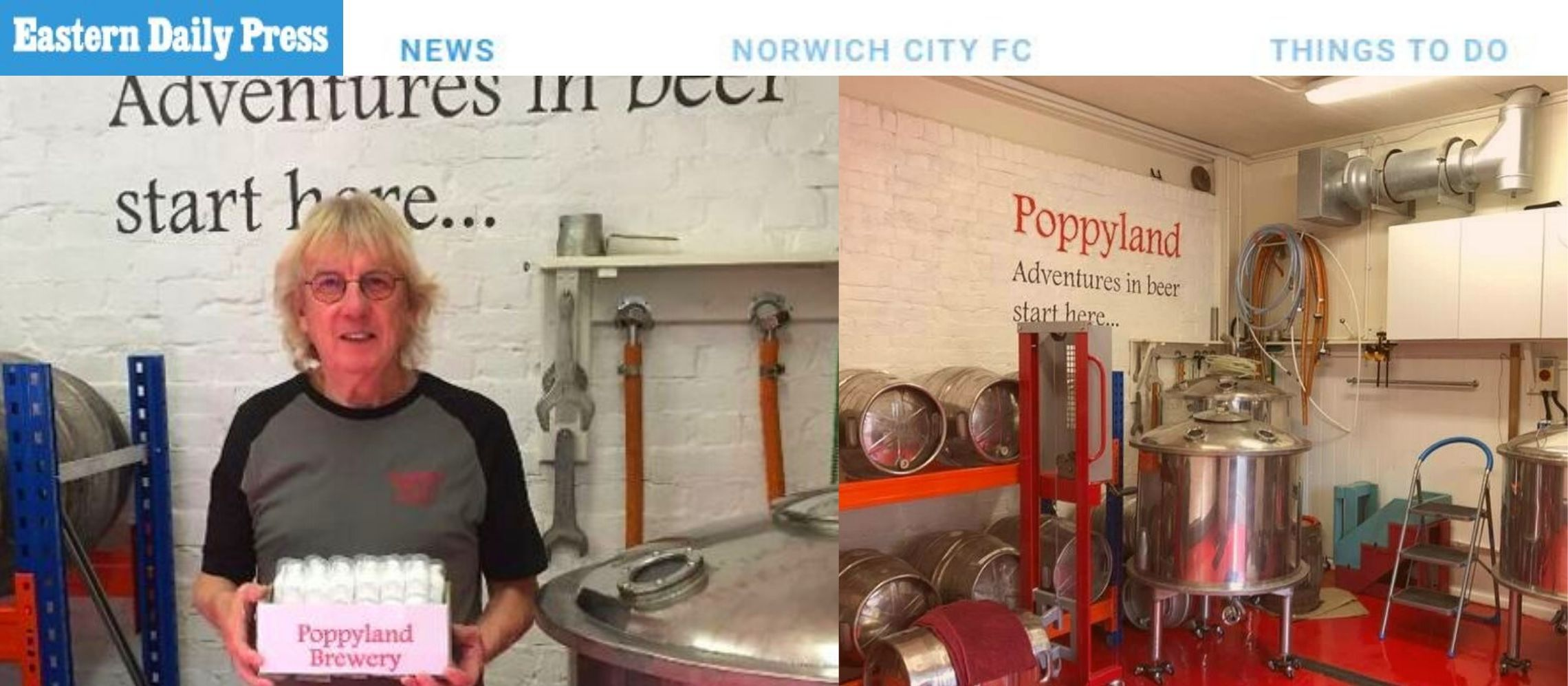 Photo for: Cromer brewery wins a silver medal at the London Beer Competition - Via Eastern Daily Press PR