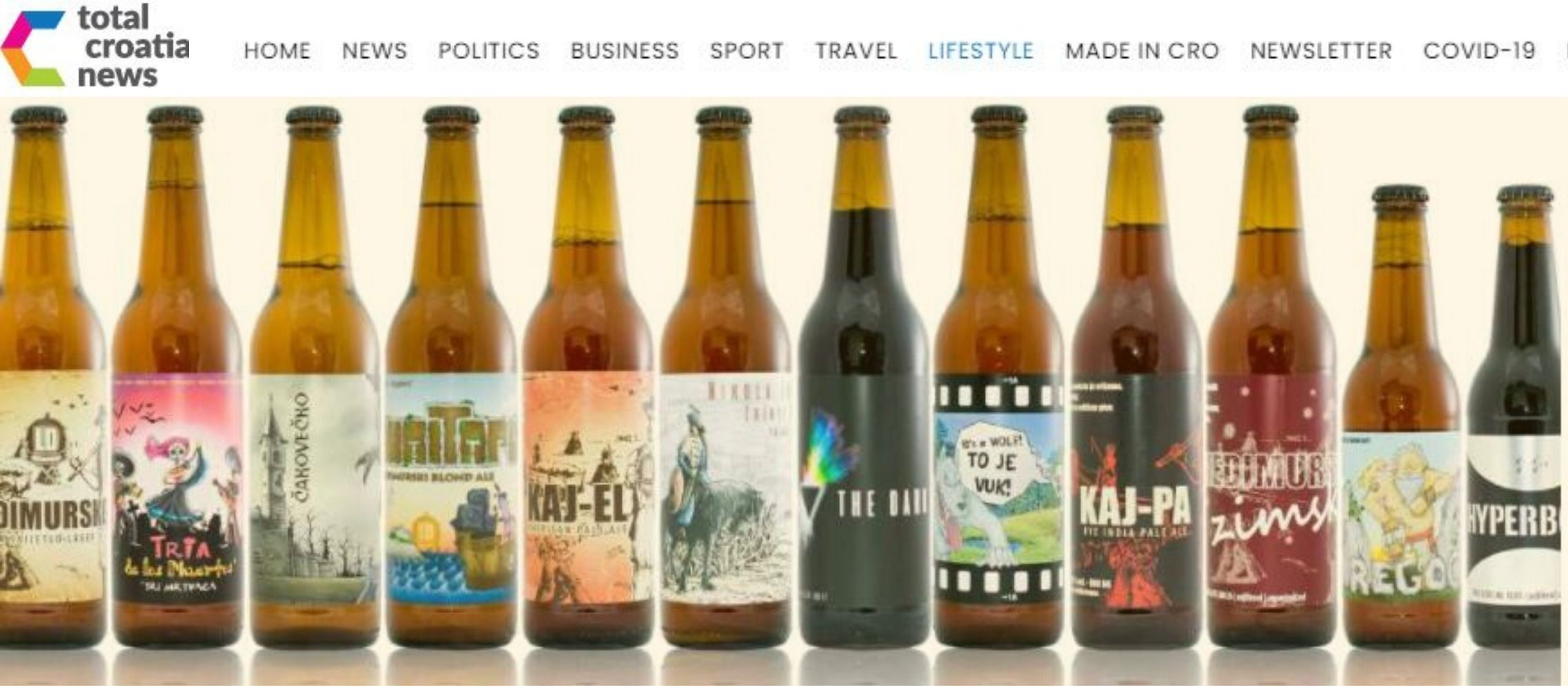 Photo for: Gold, Silver, and Best Beer Award for Međimurje's Lepi Dečki at London Beer Competition via Total Croatia News PR