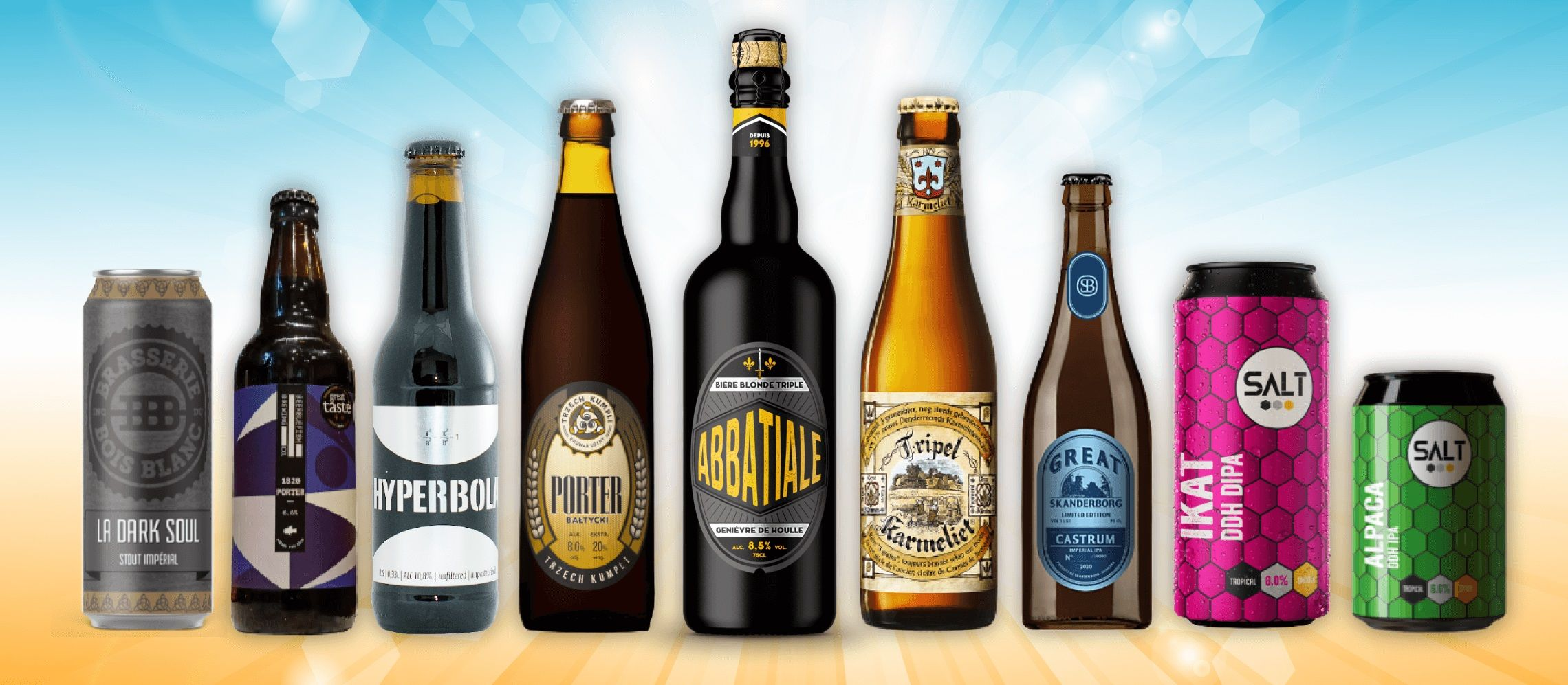 Photo for: Revealed! The Top 10 Award-Winning Beer Brands of 2021