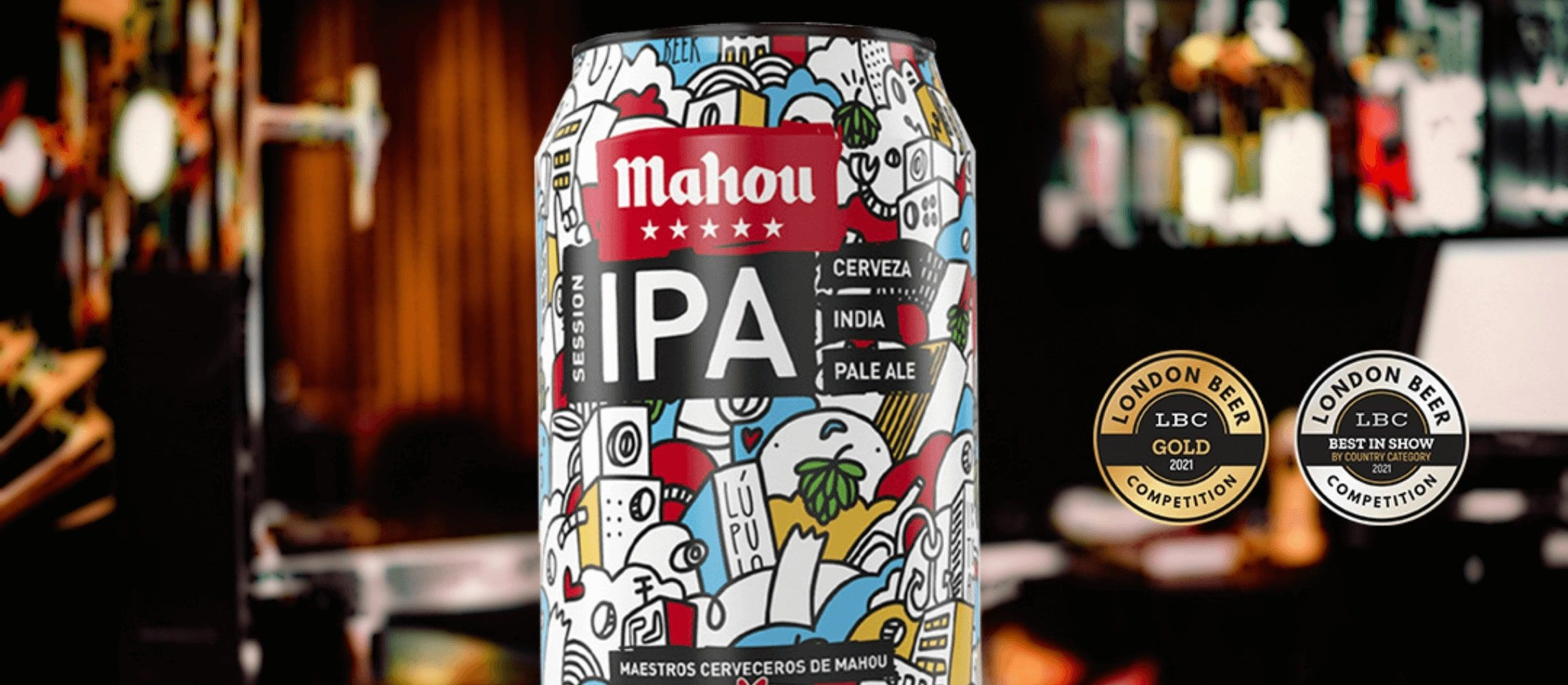 Photo for: Best Spanish Beer of 2021: Mahou Cinco Estrellas Session IPA
